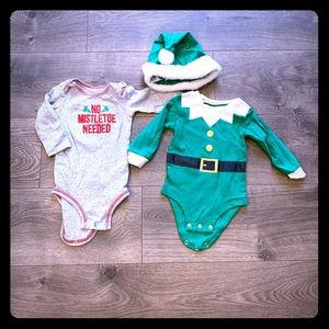 Carters 9 Month Christmas / Holiday Outfits